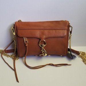Rebecca Minkoff Mini MAC Crossbody Bag Brown Purse